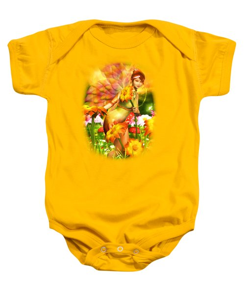 Golden Adornments Baby Onesie by Brandy Thomas