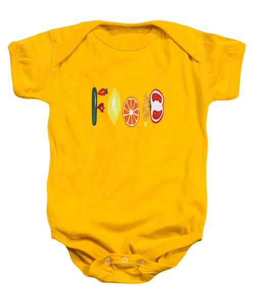 Good Eats Baby Onesie by Kathleen Sartoris