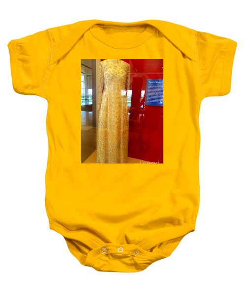 Hillary Clinton State Dinner Gown Baby Onesie by Randall Weidner