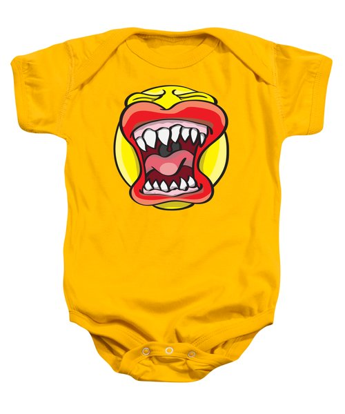 Hungry Pacman Baby Onesie by Jorgo Photography - Wall Art Gallery
