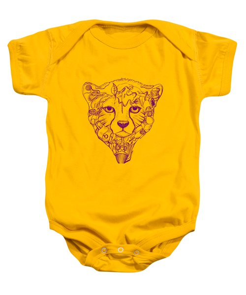 Iranian Cheetah Baby Onesie by Adam Campbell