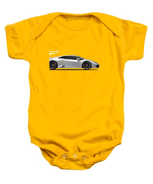 Lamborghini Huracan Baby Onesie by Mark Rogan