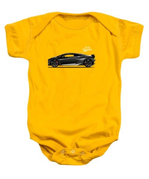 Lamborghini Sesto Elemento Baby Onesie by Mark Rogan