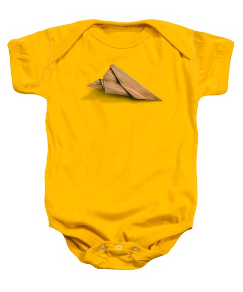 Paper Airplanes Of Wood 2 Baby Onesie by Yo Pedro
