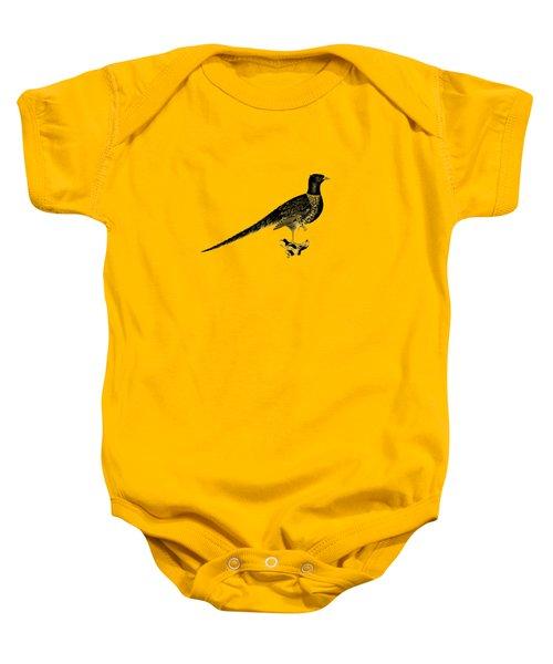 Pheasant Baby Onesie by Mark Rogan