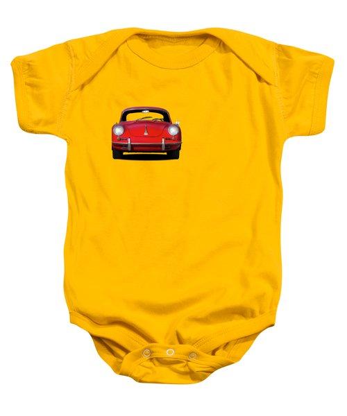 Porsche 356 Baby Onesie by Mark Rogan