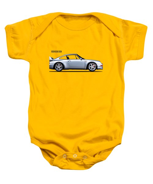 Porsche 993 Baby Onesie by Mark Rogan