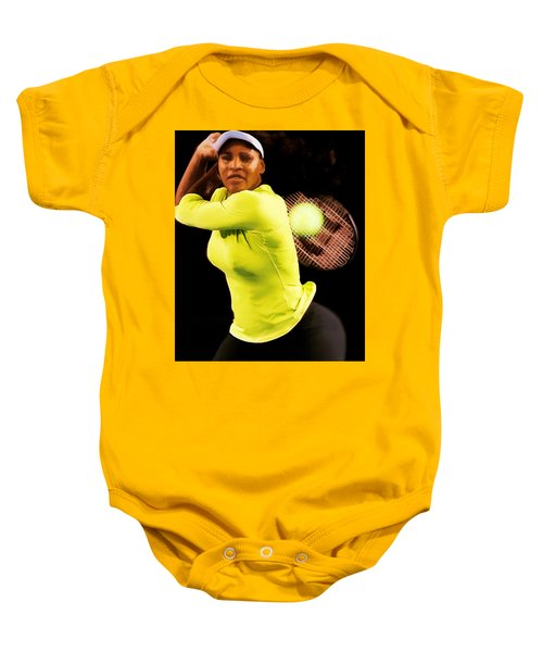 Serena Williams Bamm Baby Onesie by Brian Reaves