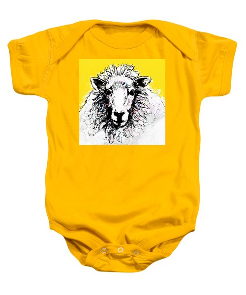 Sheep Baby Onesie by Tiffany Hunter