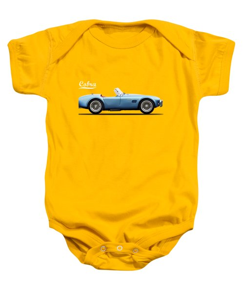 Shelby Cobra 289 1964 Baby Onesie by Mark Rogan