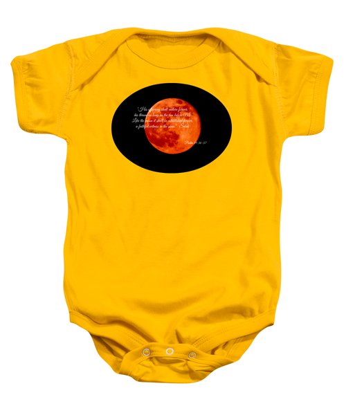 Strawberry Moon Baby Onesie by Anita Faye