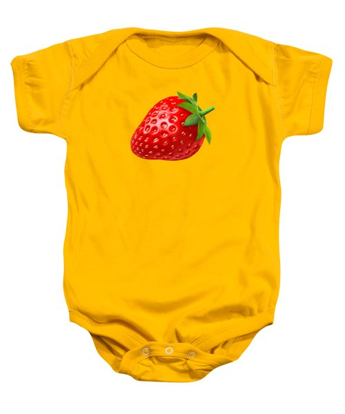Strawberry Baby Onesie by T Shirts R Us -