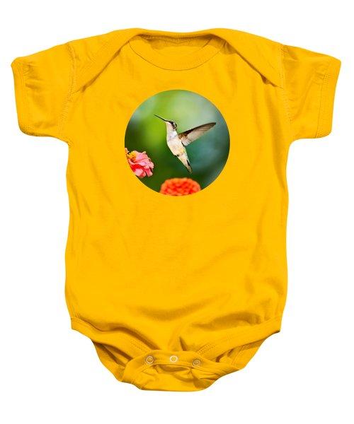 Sweet Promise Hummingbird Baby Onesie by Christina Rollo