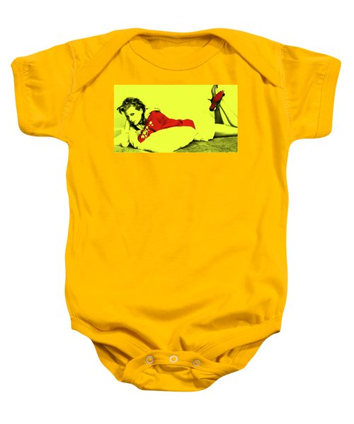 Taylor Swift 10r Baby Onesie by Brian Reaves