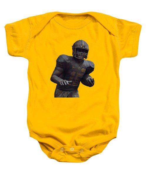 Tebow Transparent For Customization Baby Onesie by D Hackett