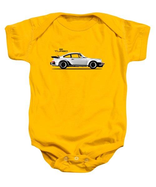 The 911 Turbo 1984 Baby Onesie by Mark Rogan