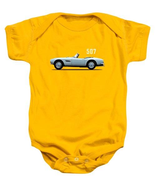 The Bmw 507 Baby Onesie by Mark Rogan