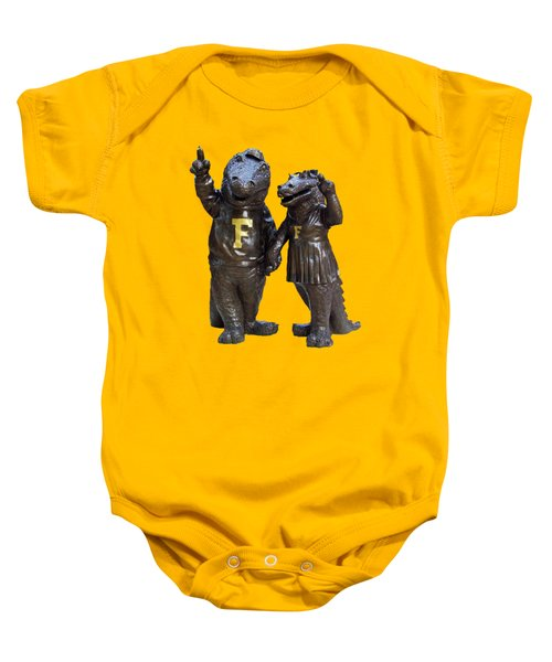 The Gators Transparent For T Shirts Baby Onesie by D Hackett