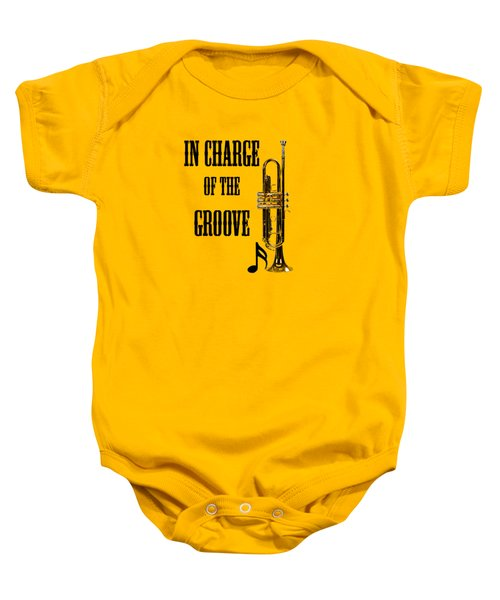 Trumpets In Charge Of The Groove 5536.02 Baby Onesie by M K  Miller