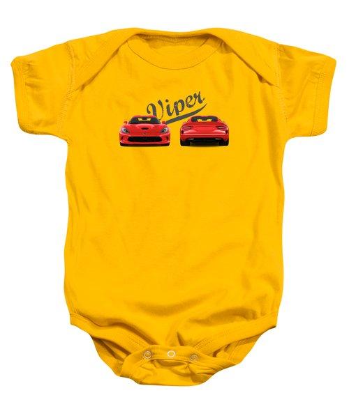 Viper Baby Onesie by Mark Rogan