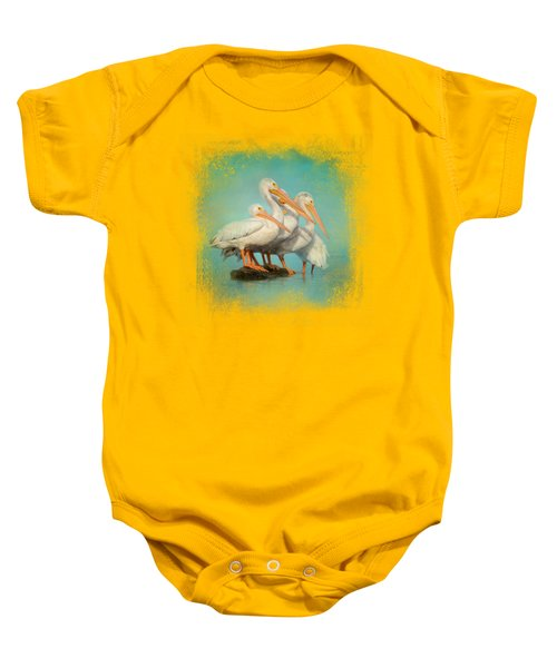 We Are Family Baby Onesie by Jai Johnson