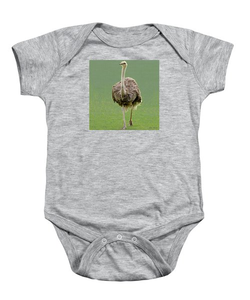Emu Baby Onesie by Ellen Henneke