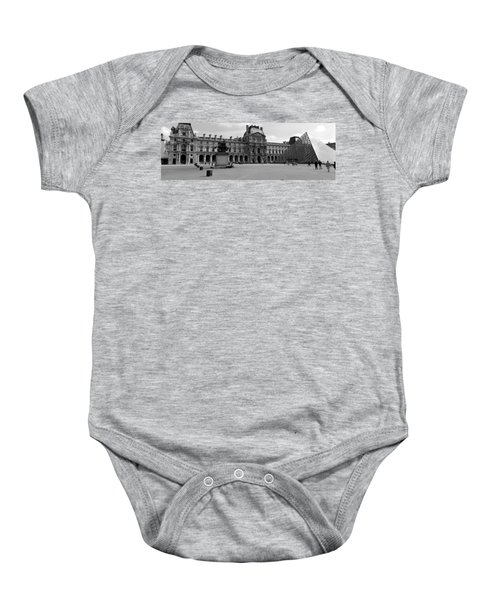 Tourists In The Courtyard Of A Museum Baby Onesie by Panoramic Images