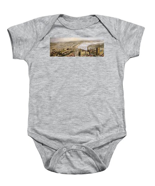 A Panoramic View Of London Baby Onesie by English School