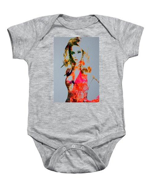 Beyonce Irreplaceable Baby Onesie by Brian Reaves