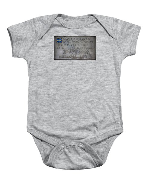 Blessing Baby Onesie by Stephen Stookey