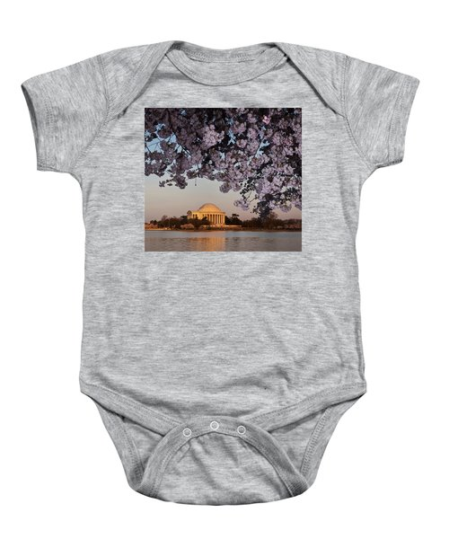 Cherry Blossom Tree With A Memorial Baby Onesie by Panoramic Images