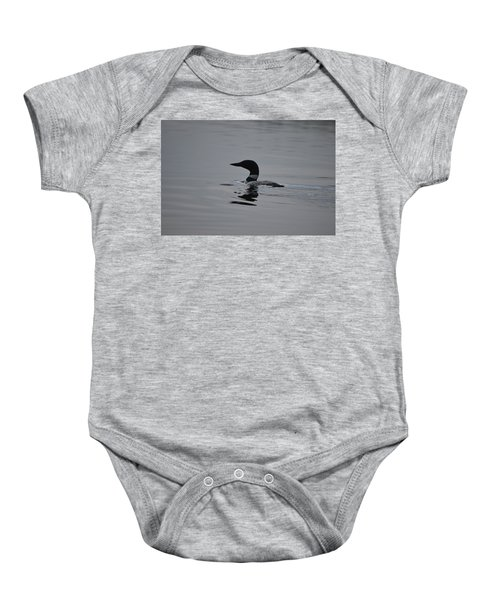 Common Loon Baby Onesie by James Petersen