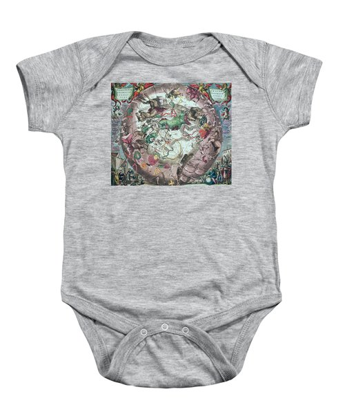 Constellations Of The Southern Hemisphere, From The Celestial Atlas, Or The Harmony Of The Universe Baby Onesie by Andreas Cellarius