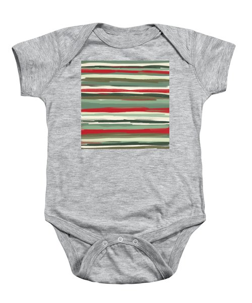 Gloomy Beach Day Baby Onesie by Lourry Legarde