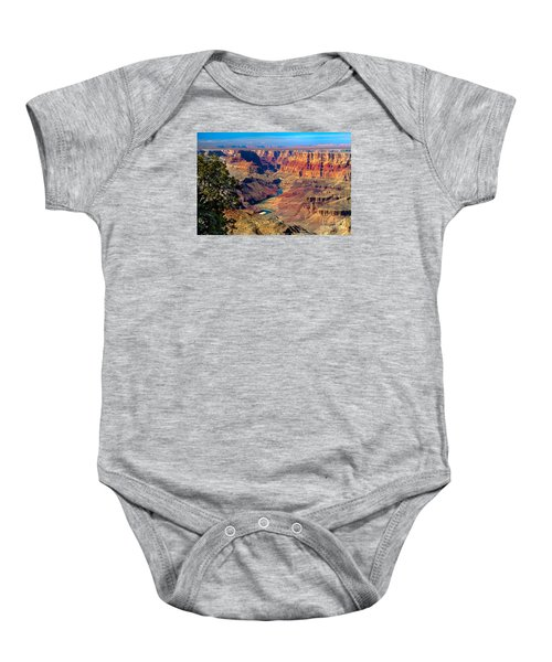 Grand Canyon Sunset Baby Onesie by Robert Bales