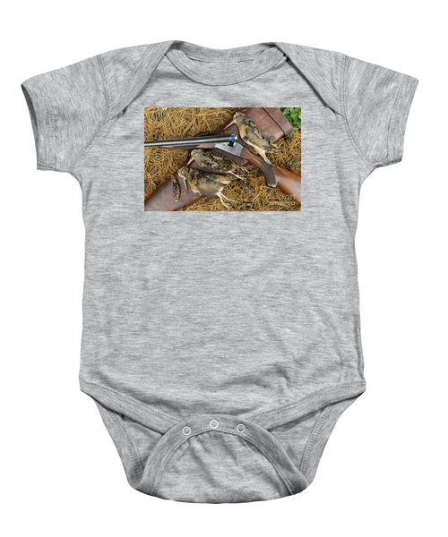 Lefever And Timberdoodle - D004023 Baby Onesie by Daniel Dempster