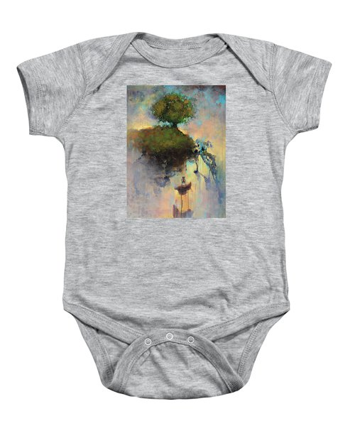 The Hiding Place Baby Onesie by Joshua Smith