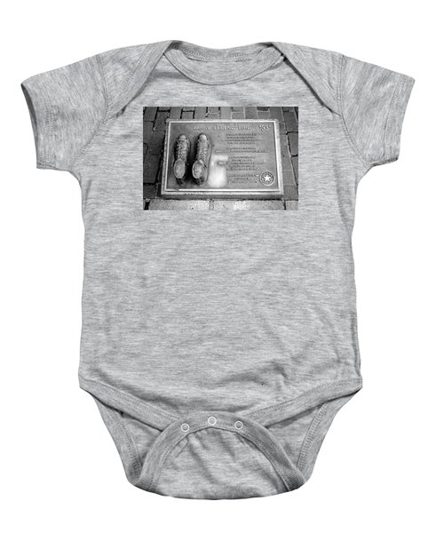Tribute To The Bird Baby Onesie by Greg Fortier