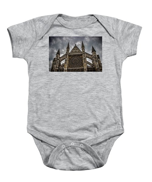 Westminster Abbey Baby Onesie by Martin Newman
