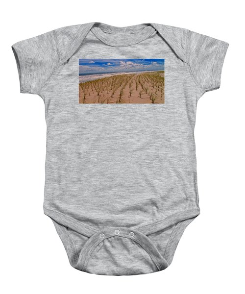 Wildwood Beach Breezes  Baby Onesie by David Dehner
