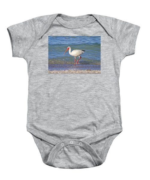 One Step At A Time Baby Onesie by Betsy Knapp