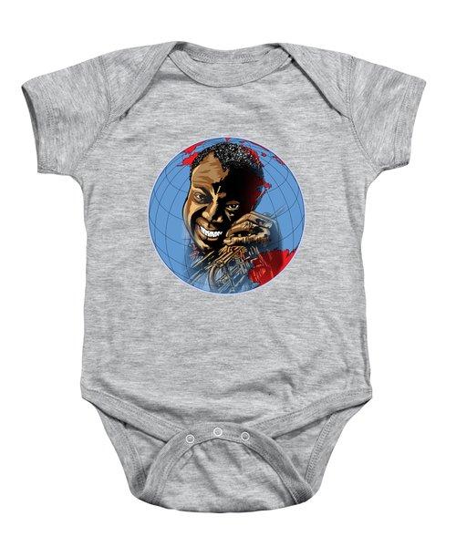 Louis. Baby Onesie by Andrzej Szczerski