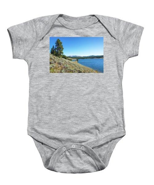 Meadowlark Lake View Baby Onesie by Jess Kraft