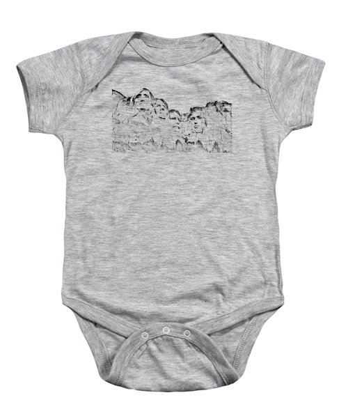 The Four Presidents Baby Onesie by John M Bailey