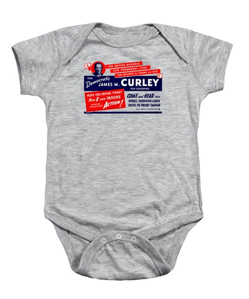 1934 James Michael Curley Baby Onesie by Historic Image