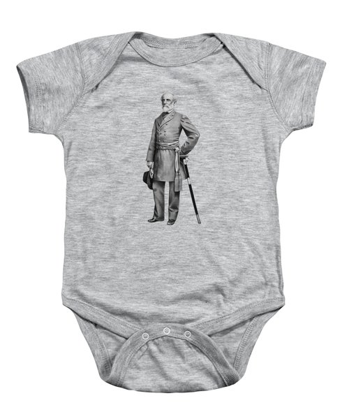General Robert E. Lee Baby Onesie by War Is Hell Store