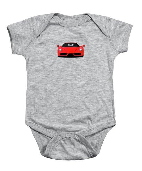 The Ferrari Enzo Baby Onesie by Mark Rogan
