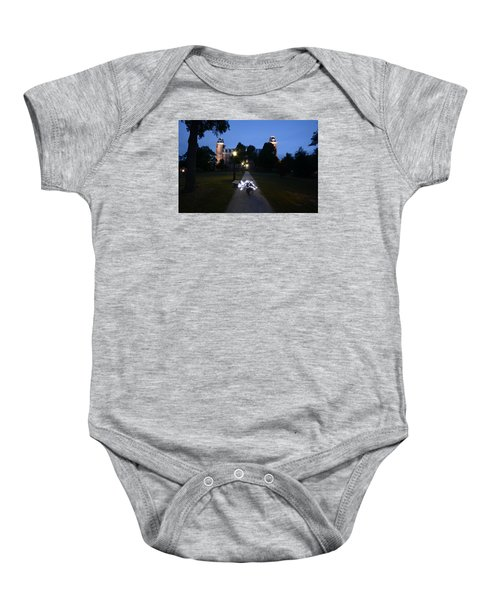University Of Arkansas Baby Onesie by Chris  Look