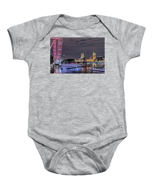 Westminster - London Baby Onesie by Joana Kruse