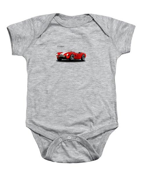 Ac Cobra Mk2 1963 Baby Onesie by Mark Rogan